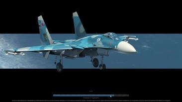 "DCS World. Сложнейшая посадка Су-33 на палубу ""Кузнецова"""