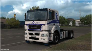 "Euro Truck Simulator 2 ""Kamaz 5490 Neo/65206 версия 0.1.3.1(14.08.20)"""