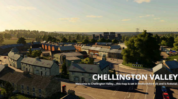 "Farming Simulator 19 ""Карта Chellington Valley v1.0.0.0 (1.7.x)"""