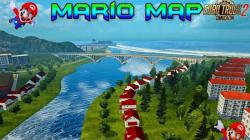 "Euro Truck Simulator 2 ""Карта Марио v12.8 (13.01.21) (1.39.x)"""