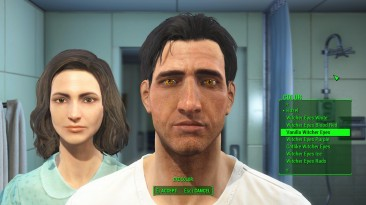 """Fallout 4 """"Witcher Eyes"""""""