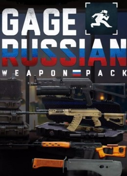 Payday 2: Gage Russian Weapon