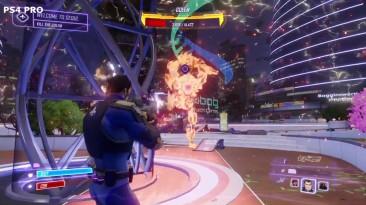 Графическое сравнение Agents of Mayhem: PS4 Pro vs. PS4 vs. Xbox One