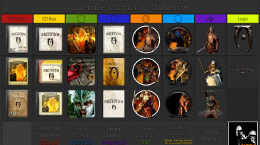"The Elder Scrolls 4: Oblivion ""Иконки (ArtGamer)"""