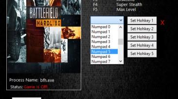 Battlefield: Hardline: Трейнер/Trainer (+5) [2.02.26] {MrAntiFun}