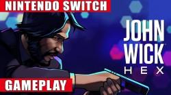Видео игрового процесса Switch-версии John Wick Hex