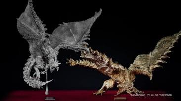 Фигурка Monster Hunter из чистого золота стоимостью $ 80 000