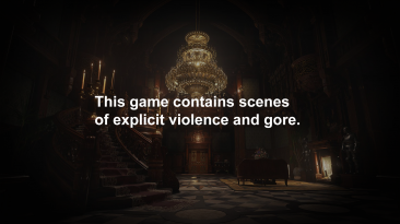 "Resident Evil: Village ""Классический стартовый экран"""