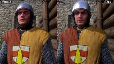 Kingdom Come Deliverance - Сравнение Patch 1.4 HD Texture Pack vs. Vanilla (Candyland)