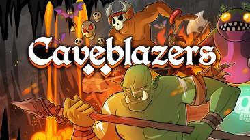 14 минут геймплея Caveblazers