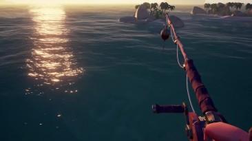 Геймплей обновления для Sea of Thieves - Готовка и рыбалка
