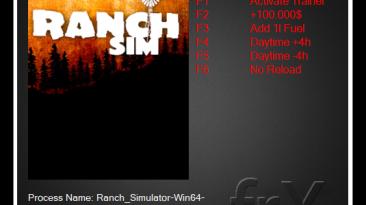 Ranch Simulator : Трейнер/Trainer (+5) [Early Access vS0.331] {frX}