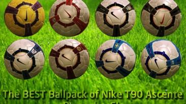 """PES 2009 """"Nike T90 Ascente Balls by pocho_SL"""""""