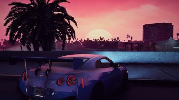 "Grand Theft Auto 5 ""PRV - Графика в стиле ретровейва"""