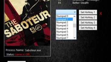 The Saboteur: Трейнер/Trainer (+5) [12.04.2016] {MrAntiFun}