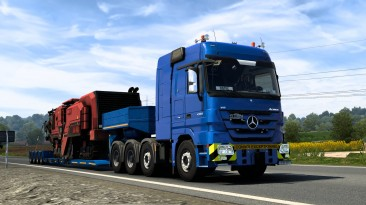 "Euro Truck Simulator 2 ""Mercedes-Benz Actros MP3 (1.42.x)"""