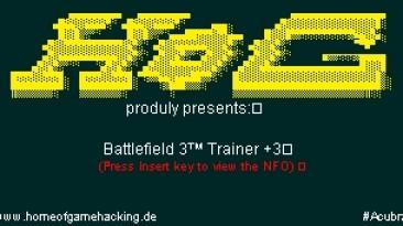 Battlefield 3: Трейнер/Trainer (+3) [1.0] {HoG/Acubra}