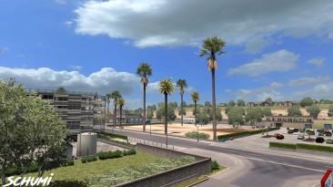 """American Truck Simulator """"Новая погода, которая основана на IWRr6 ATS 1.34.x"""""""
