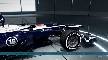 "F1 2012 ""Williams FW35 2013"""