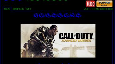 Call of Duty ~ Advanced Warfare: Трейнер/Trainer (+8) [1.0] {elDDS}