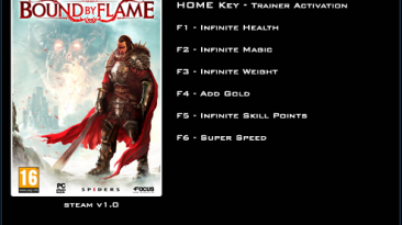 Bound by Flame: Трейнер/Trainer (+6) [1.0] {LinGon}