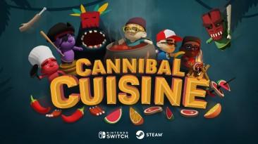 Релизный трейлер кооперативной кулинарной игры Cannibal Cuisine