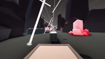 Невероятные прыжки по фурам через смертельные лазеры! - Clustertruck