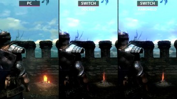 Dark Souls - Cравнение PC и Nintendo Switch версий игры