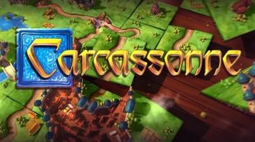 Switch-версия настольной игры Carcassonne получила новый трейлер. Релиз уже через пару недель