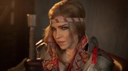 Косплей Саскии из The Witcher 2: Assassins of Kings
