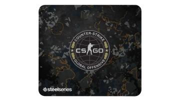 Игровой коврик SteelSeries QcK+ CS:GO Camo Edition}