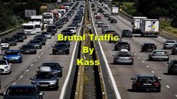"American Truck Simulator ""Мод Brutal Traffic v1.0 [Kass] (1.39.x)"""