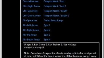 The Crew: Трейнер/Trainer (+5) [1.0.3.0: V1 - MovementZ] {Sethioz}