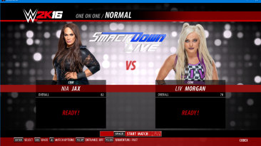 "WWE 2K16 ""Nia Jax WWE 2K17 порт мод"""