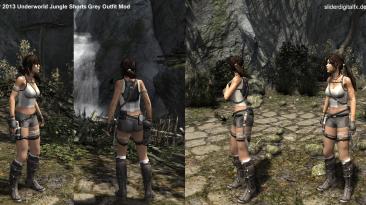 """Tomb Raider (2013) """"Лара крофт в светло серой майке и шортах"""""""