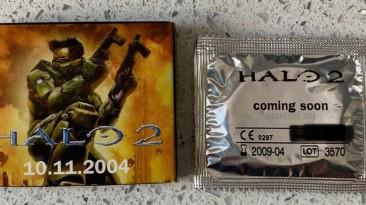Раньше было лучше: можно было приобрести презервативы с мерчем Halo 2 и Xbox