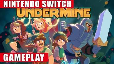 Видео игрового процесса Switch-версии UnderMine