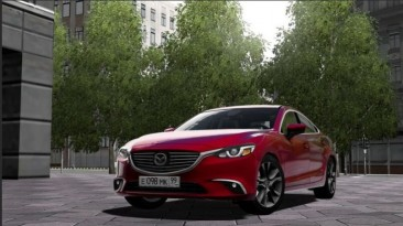 "City Car Driving ""Mazda 6 2018 (v1.5.9 - 1.5.9.2)"""