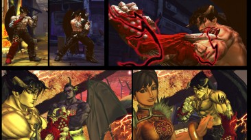 "Street Fighter X Tekken ""Devil Jin новая версия"""
