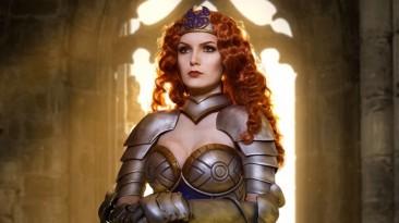 Косплей Катерины из Heroes of Might and Magic III