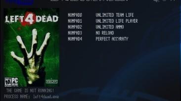 Left 4 Dead: Трейнер/Trainer (+5) [Latest Steam] {LIRW / GHL}
