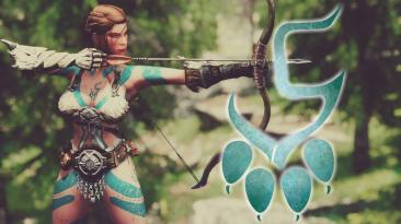 "Elder Scrolls 5: Skyrim ""Ziovdendian Body paint - Дизайны люпина - RaceMenu накладки"""
