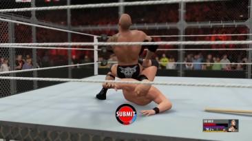 Самое угарное из WWE2k16. (AlexPozitiv)