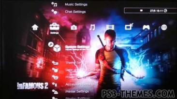 """inFamous 2 """"Тема PS3 #1"""""""