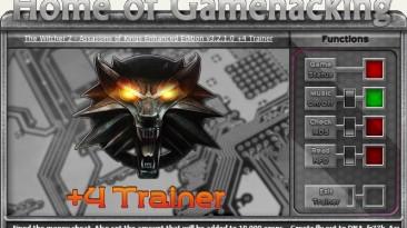 The Witcher 2 - Assassins of Kings Enhanced Edition: Трейнер/Trainer (+4) [3.1.1.0/3.2.1.0] {HoG/sILeNt heLLsCrEAm}
