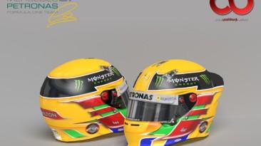 "F1 2012 ""Mercedes AMG 2013 Helmets"""