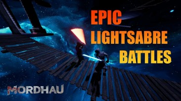 В Mordhau добавили бои на световых мечах