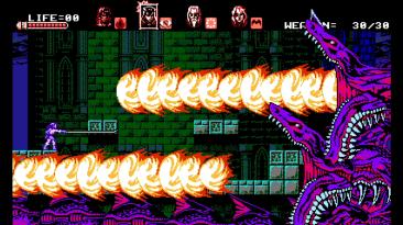 Анонсирован Bloodstained: Curse of the Moon - клон Castlevania