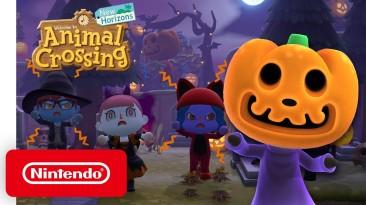 Animal Crossing пугает большим хэллоуинским обновлением