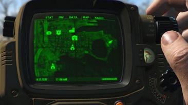"""Fallout 4 """"Спутниковая карта мира"""""""